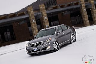 Photos de la Hyundai Equus 2011