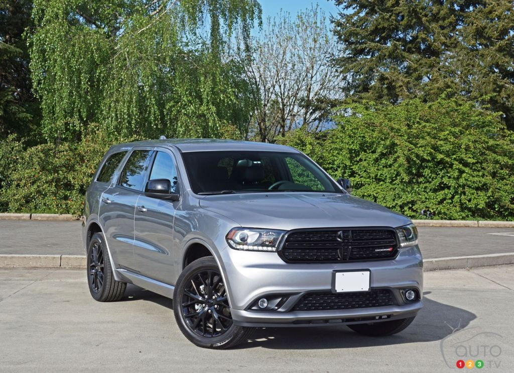 2016 dodge durango sxt awd blacktop road test car reviews auto123. Black Bedroom Furniture Sets. Home Design Ideas