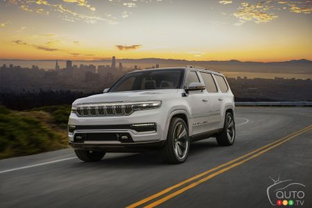 2022 Jeep Grand Wagoneer Concept pictures