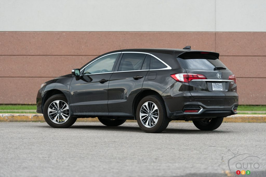 The 2016 Acura RDX Elite is vanilla | Car Reviews | Auto123