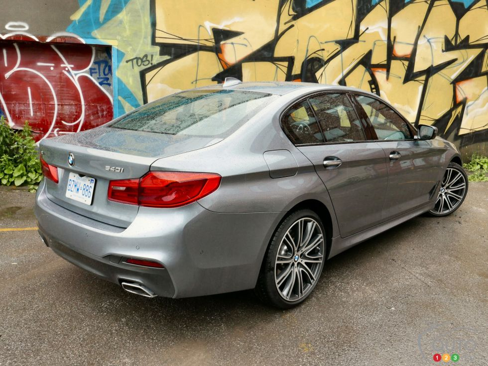 2017 BMW 540i xDrive: A sport sedan with a gadget problem