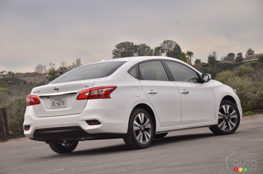 2016 Nissan Sentra First Impressions Car Reviews Auto123