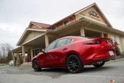 We drive the 2021 Mazda Mazda3 Turbo