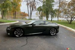 We drive the 2021 Lexus LC 500
