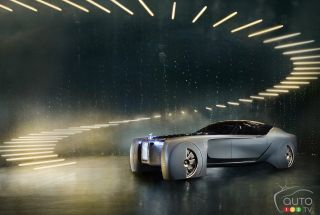 Rolls-Royce Vision NEXT 100 pictures