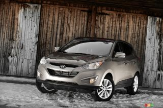 2010 Hyundai Tucson Limited AWD pictures