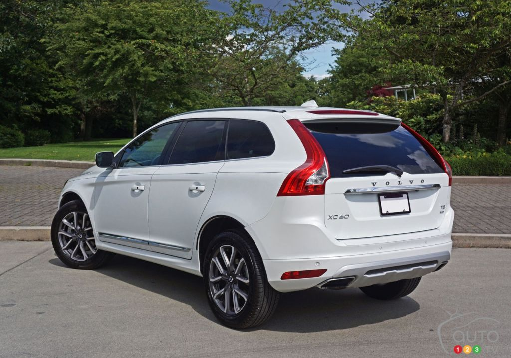 2016 volvo xc60 t5 awd se premier road test car news auto123. Black Bedroom Furniture Sets. Home Design Ideas