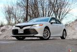 2019 Toyota Camry XLE pictures