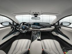 BMW i8 dashboard