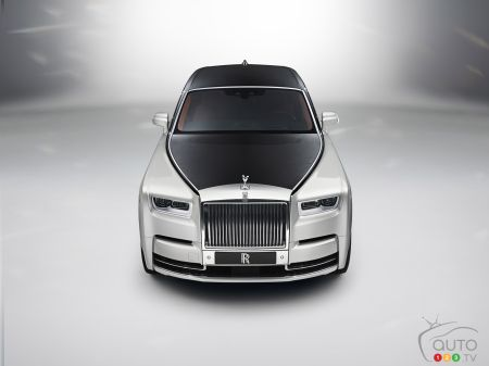 New Rolls-Royce Phantom pictures