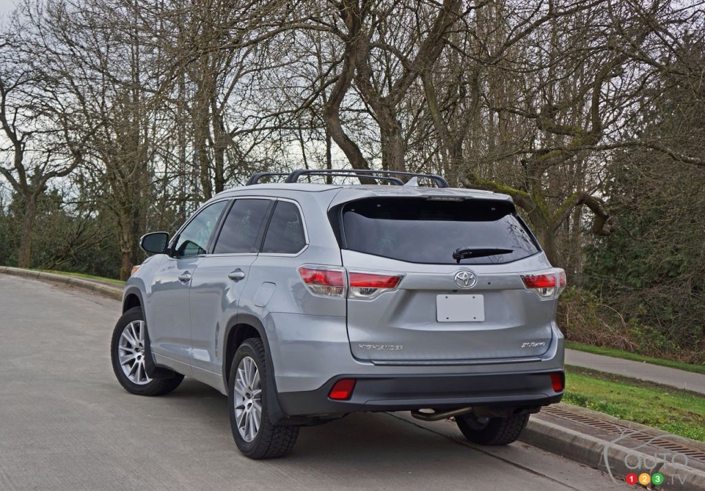 The 2016 Toyota Highlander Xle Awd Gets High Marks Car