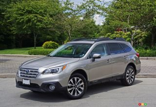 2016 Subaru Outback 2.5i limited pictures