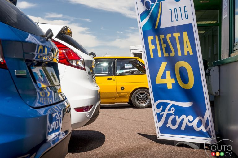 Ford Fiesta celebrates 40 years