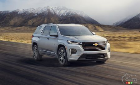 2021 Chevrolet Traverse pictures