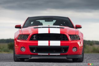 Photos de la Ford Mustang Shelby GT500 2013