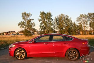 Photos de la Ford Fusion Sport 2017