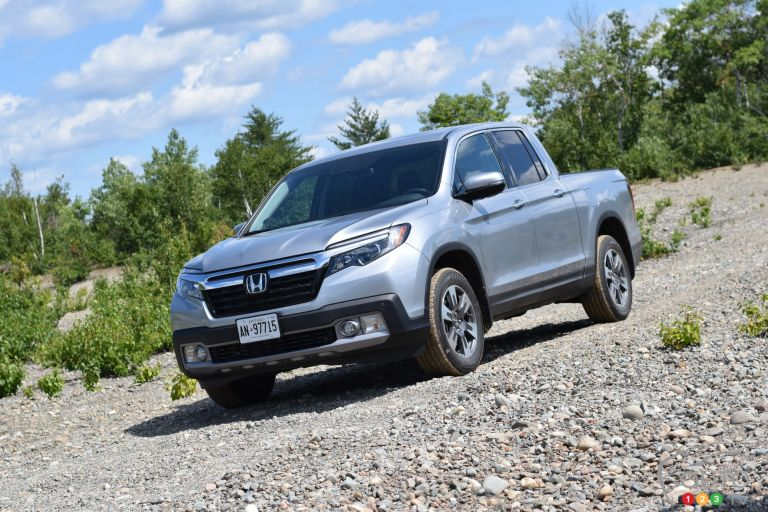 Photos du Honda Ridgeline 2017