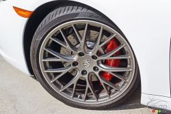2017 Porsche 911 Carrera 4s wheel