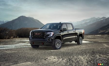 2019 GMC Sierra and Sierra AT4 pictures