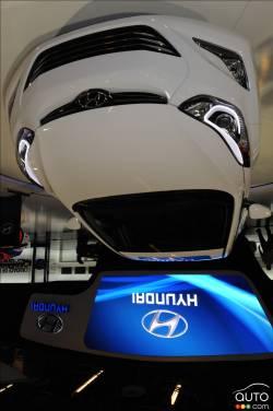 Photos De La Hyundai Elantra 2014 Au Salon De Montr 233 Al