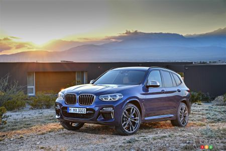 The new BMW X3 pictures