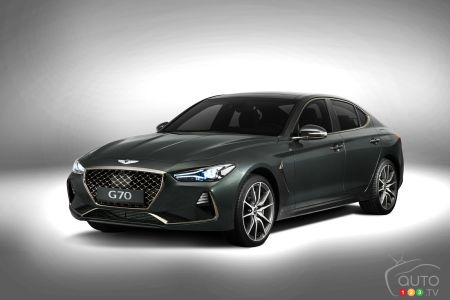 The all-new Genesis G70 pictures
