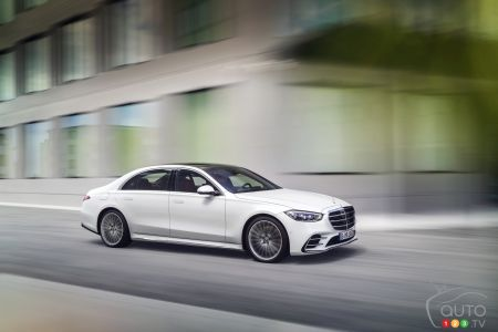 2021 Mercedes-Benz S-Class pictures