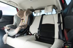 2016 Mazda CX-3 GT rear seats