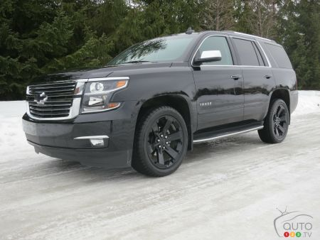 2017 Chevy Tahoe Premier pictures