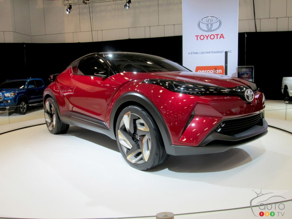 Toyota C-HR makes Canadian debut at Quebec City Auto Show | Car News | Auto123