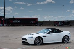 2015 Aston Martin V12 Vantage S Roadster side view