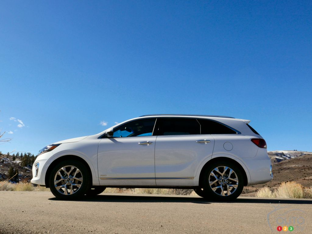 First Drive Review Of The Refreshed 2019 Kia Sorento Suv Car