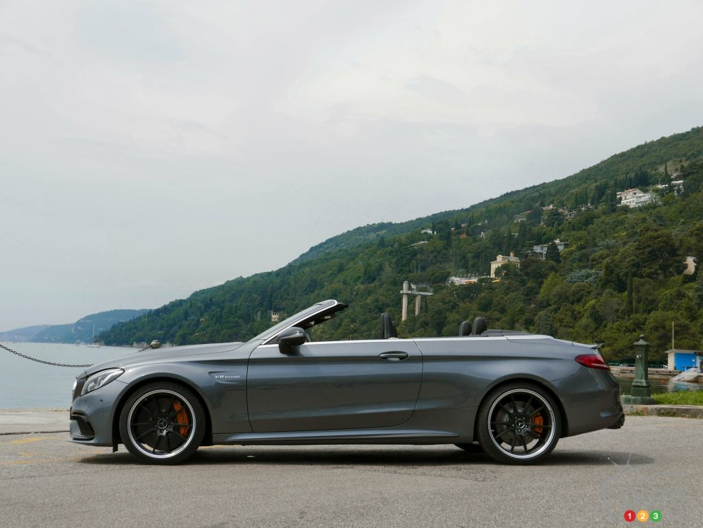 2017 mercedes benz c class cabriolet first drive car for Mercedes benz c 2017