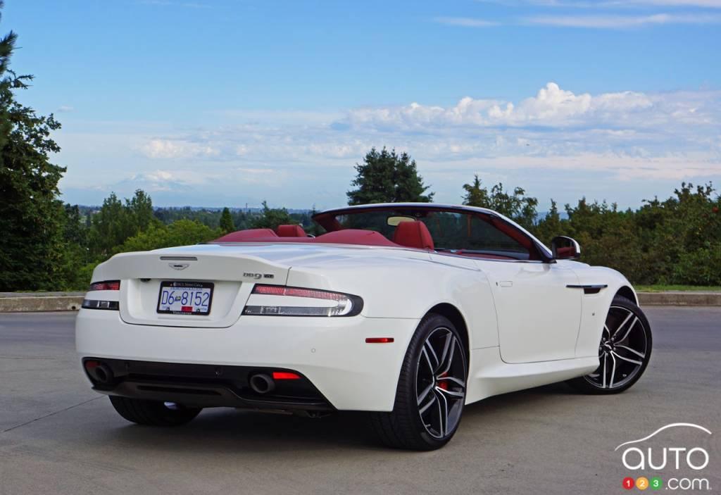 2016 Aston Martin Db9 Gt Volante In A Word Blissful Car Reviews