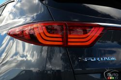 2017 Kia Sportage tail light