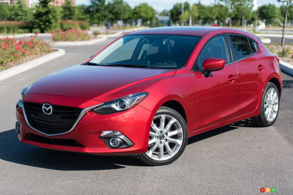 2015 mazda3 sport gt review car reviews auto123. Black Bedroom Furniture Sets. Home Design Ideas