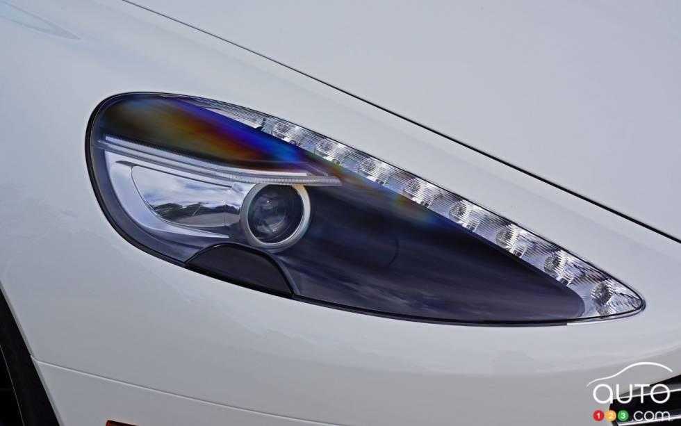 Aston Martin DB GT Volante Pictures Auto - Aston martin headlights