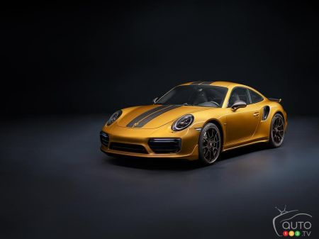 The new Porsche 911 Turbo S Exclusive Series pictures