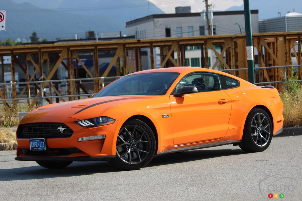 2020 Ford Mustang Ecoboost High Performance Package Review Car Reviews Auto123