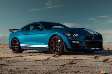 2020 Ford Mustang Shelby GT500 pictures