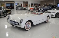 A 1953 Chevrolet Corvette is up for sale