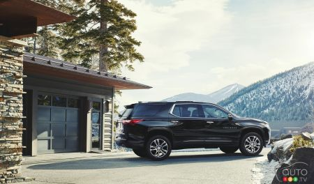 2018 Chevrolet Traverse pictures