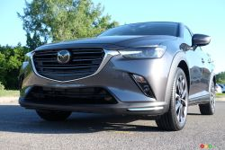The new 2019 Mazda CX-3