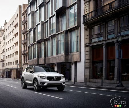 Photos du Volvo XC40 2019