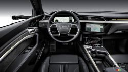 The new 2019 Audi e-tron