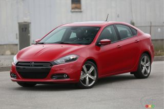 recall on 2013 2014 dodge dart in canada car news auto123. Black Bedroom Furniture Sets. Home Design Ideas
