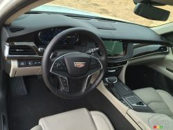 2016 Cadillac CT6 cockpit