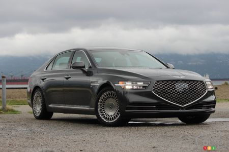 2020 Genesis G90 pictures