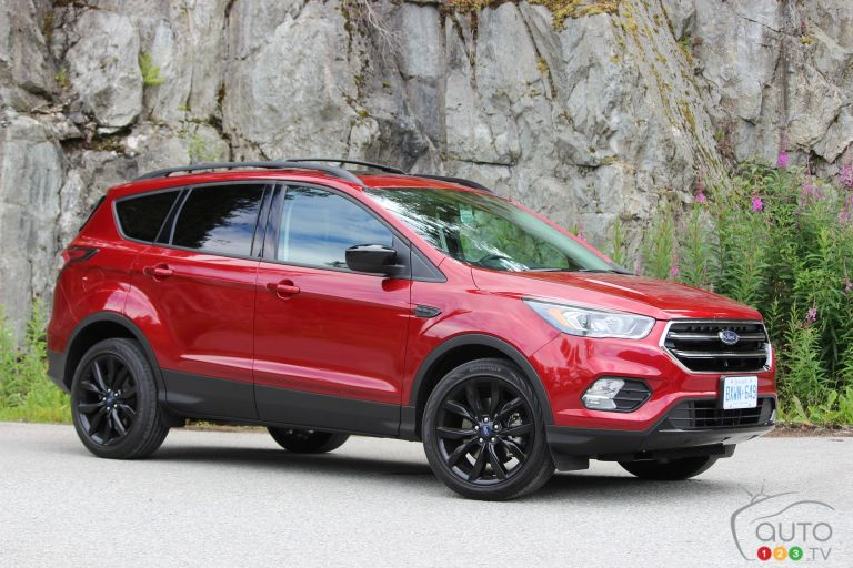 Photos du Ford Escape 2017