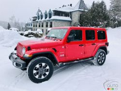 We test drive the 2018 Jeep Wrangler Sahara Unlimited